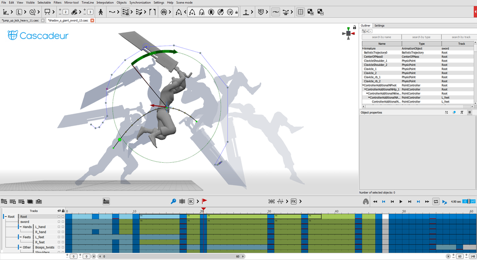 Cascadeur - the physics-based animation software  A